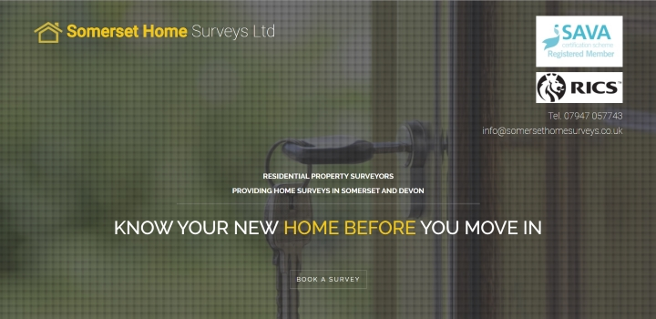 Somerset Home Surveys website